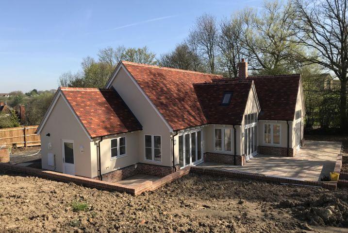 New Build Residential Bungalow In Elsenham, Essex